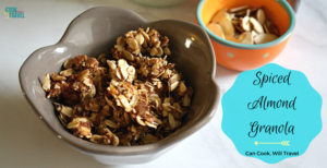 Homemade Coconut Almond Spice Granola