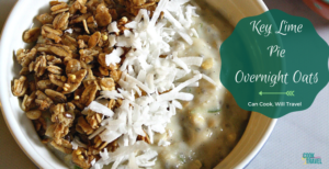Coconut Lime Overnight Oats
