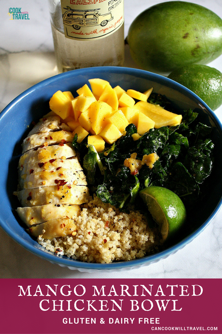 Chili Lime Mango Chicken Bowl