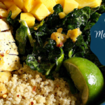 Mango Chicken Quinoa Bowl