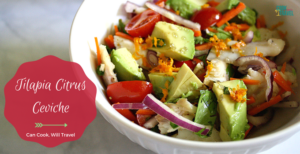 Healthy & Easy Tilapia Ceviche