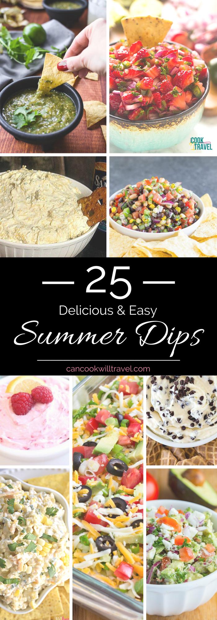 Summer Dip Recipes