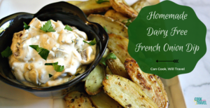 French Onion Dip from Scratch!