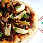 Italian Sausage Apple Pizza