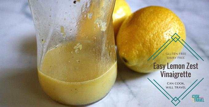 Lemon Zest Vinaigrette