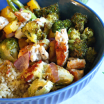 Roasted Veggie Turkey Quinoa Bowl