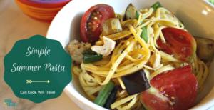 Gluten Free Summer Veggie Pasta