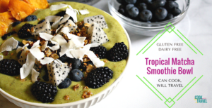 Tropical Matcha Smoothie Bowl = Matcha Magic!