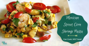 Healthy Mexican Street Corn Pasta Salad