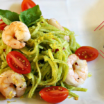 Shrimp Avocado Pasta