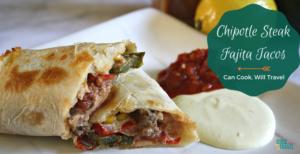Smoky Chipotle Fajita Style Steak Tacos