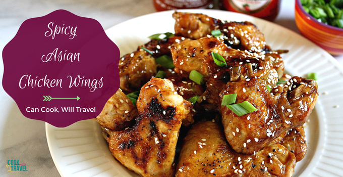 Spicy Asian Baked Chicken Wings