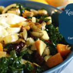 Roasted Butternut Squash Fennel Kale Salad
