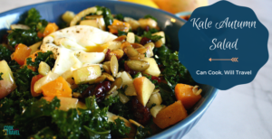 Roasted Butternut Squash Fennel Kale Salad