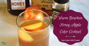 Warm Bourbon Honey Apple Cider