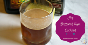 Dairy Free Hot Buttered Rum