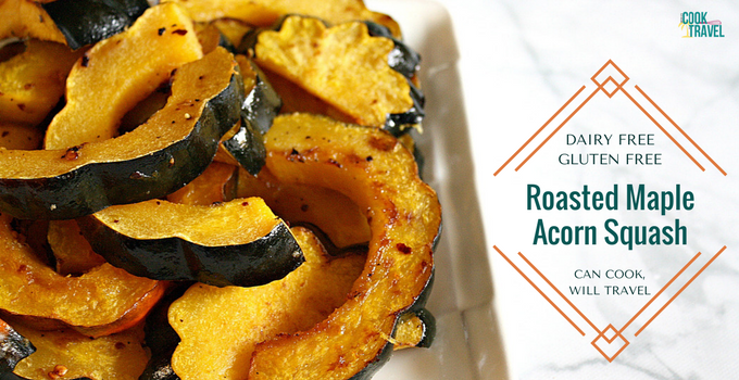 Roasted Maple Acorn Squash