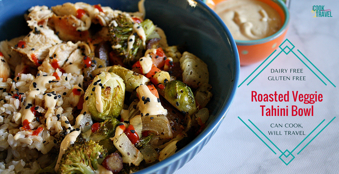 Roasted Veggie Tahini Bowl