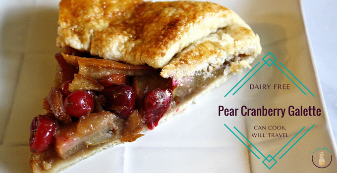 Pear Cranberry Galette