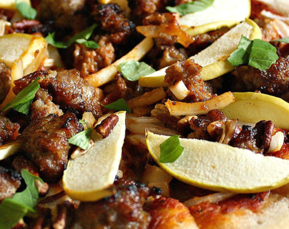 Italian Sausage Apple Pizza Will Surprise You!