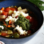 Spicy Sausage Minestrone