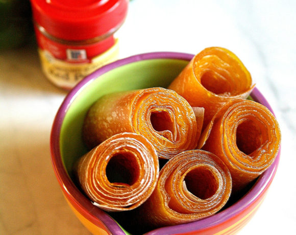 Spicy Mango Pineapple Fruit Leather