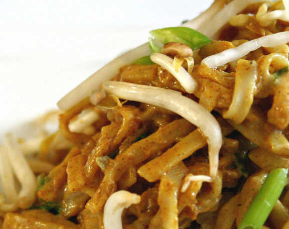 Dairy Free Pad Thai = Healthy & Yummy!
