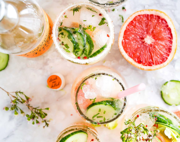 10 Healthy Cocktails to Enjoy Guilt-Free This Summer!